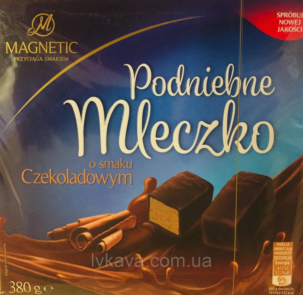 Конфеты птичье молоко с шоколадным  вкусом Magnetic Podniebne Mleczko  , 500 гр