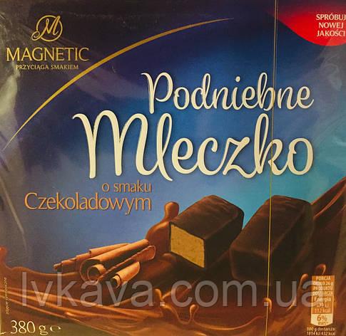 Конфеты птичье молоко с шоколадным  вкусом Magnetic Podniebne Mleczko  , 500 гр, фото 2