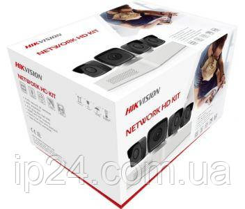 Комплект видеонаблюдения Hikvision NK4E0-1T для уличной установки