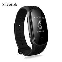 Диктофон-часы с активацией голосом + USB Флэш-накопитель + Шагометр + MP3-плеер Savetek 16 Гб