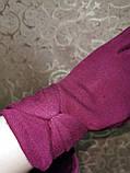 Трикотаж женские перчатки Эластичный(только ОПТ), фото 3