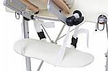 Массажные столы трехсегментные Алюминиевые, Однотонные, фото 7