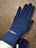 Трикотаж женские перчатки Эластичный(только ОПТ), фото 2