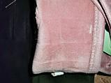 Замш женские перчатки стильные только оптом, фото 4