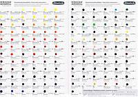Дотс карта акварелі  на140 кольорів HORADAM® Schmincke