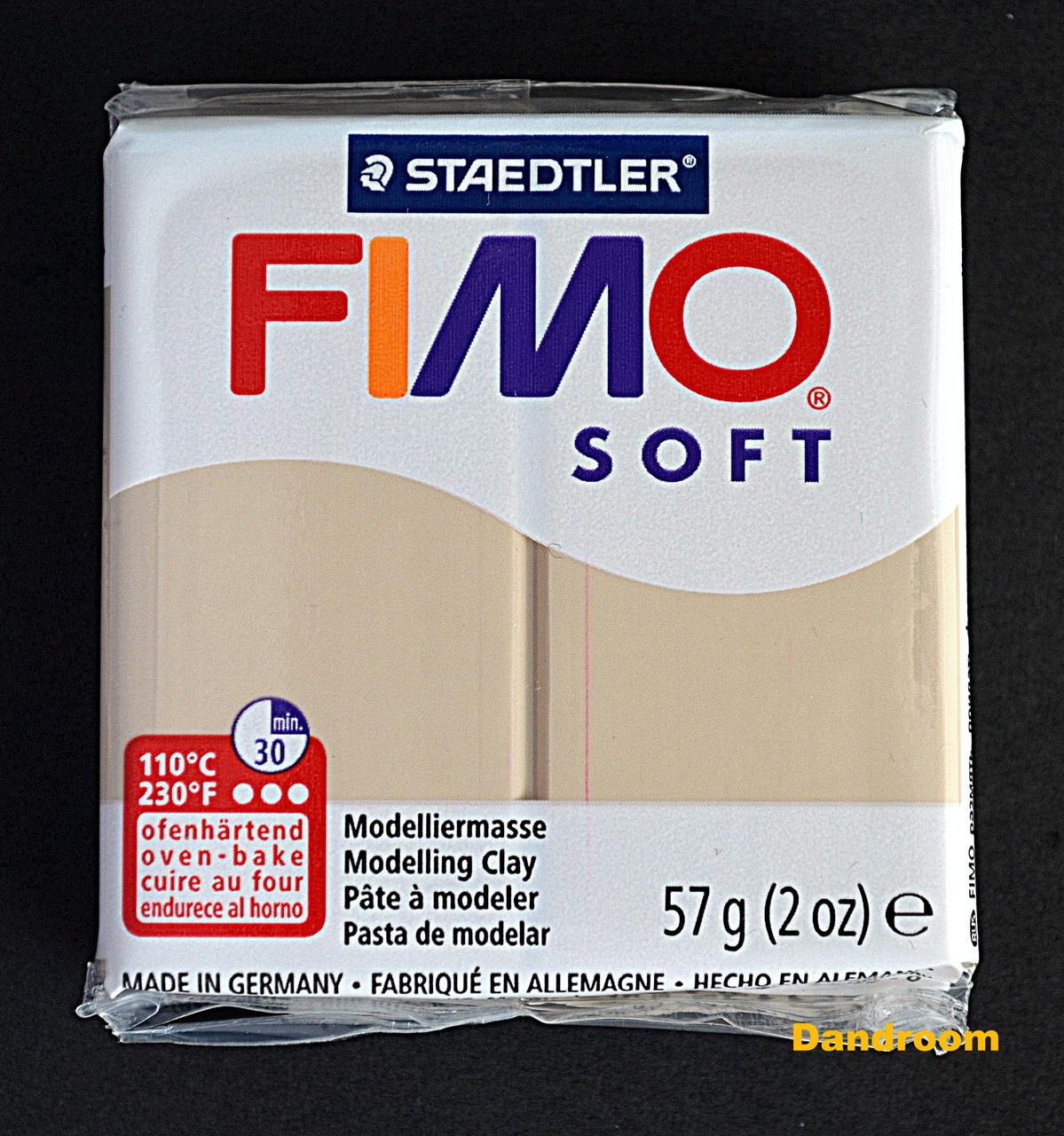 Пластика Soft, Сахара, 57 г, Fimo