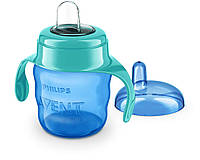 Тренировочная  чашка с мягким носиком Philips AVENT от 6 мес. 200 мл (Филипс Авент), фото 1