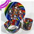 Посуда детская L.O.L. UNICORNS подарочный набор 3ка купить оптом со склада 7км Одесса, фото 2