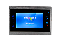 Цветной AHD видеодомофон GreenVision GV-054-AHD-J-VD7SD silver