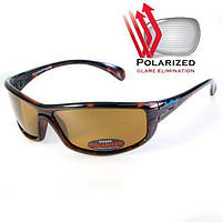 Солнцезащитные очки Polarized Florida-4 с поляризацией коричневые, фото 1