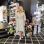 """Плаття літнє жіноче з бавовни , сонцекльош , міді , """"Принцеса в офісі"""", фото 4"""