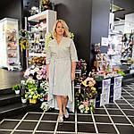 """Плаття літнє жіноче з бавовни , сонцекльош , міді , """"Принцеса в офісі"""", фото 2"""