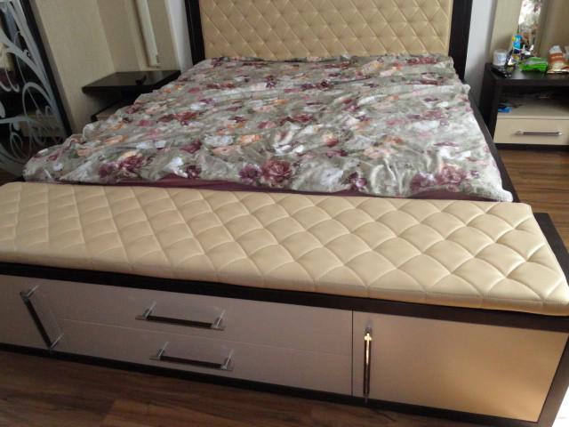 Двуспальная кровать на заказ. Кровать на заказ Днепр. Мебель на заказ.