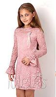 Платье нарядное для девочек tm Mevis 2925 Размеры 122 - 146