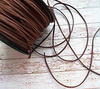 Шнур шкіряний, 3мм., коричневий світлий