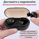 Беспроводные наушники JBL Free X Bluetooth 5.0 soundsport T110BT с кейс TWS гарнитура микрофон телефон блютуз, фото 4
