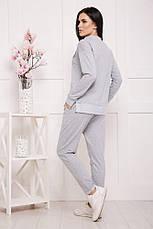 Женский спортивный костюм, в расцветках, р.42-50, фото 2