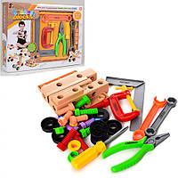 Игровой набор инструментов 808-6 (отвертка, плоскогубцы, ключ и болты)