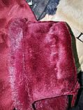 Замшс мех на манжете с сенсором качество женские перчатки для работы на телефоне плоншете стильные только опт, фото 6