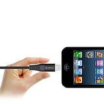 Кабель Lightning Orico LTK-10 для зарядки и передачи данных iPhone/iPad/iPod (1м), фото 3