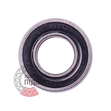 688 2RS [EZO] Миниатюрный закрытый шарикоподшипник - 1000088, фото 2