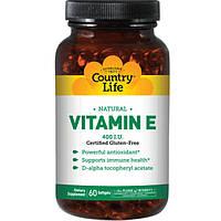Вітамін е капсули №60 ТМ Кантрі Лайф / Country Life