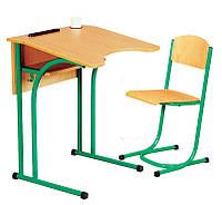 Антисколиозный одноместный  стол и стул растущие, фото 1