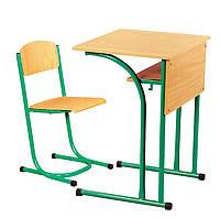 Растущие стол и стул (металлокаркас), фото 1