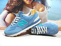 Кроссовки мужские New Balance 574 (реплика) голубые 43 р., фото 1
