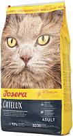 Josera Cat Catelux для кошек против комков шерсти, 2 кг