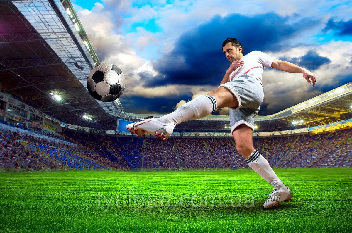 Вафельная картинка на торт спорт футбол 13