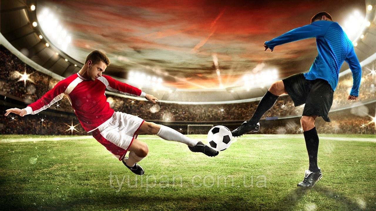 Вафельная картинка на торт спорт футбол 18