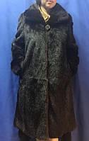 Шуба из меха нутрии, трапеция., фото 1