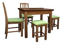Стол раздвижной90(+30)*65 на 4 ногах