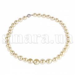 Ожерелье из золотого жемчуга Майорка 9473ж