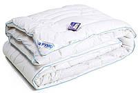 Одеяло Руно™ особо теплое   140х205  «Белое с кантом», фото 1
