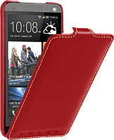 Чехол для HTC One M7 - Vetti Craft flip Normal Series, красный