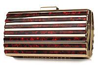 Клатч вечерний Casa Familia S10-2984-07 red