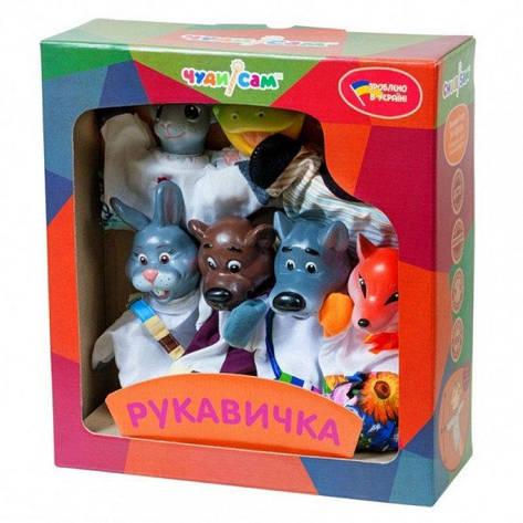 """Кукольный театр """"РУКАВИЧКА"""" (премиум упаковка, 7 персонажей) B153, фото 2"""
