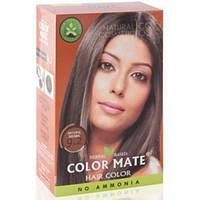 Хна фарба натуральна Color Mate Natural Brown 75г (натуральний коричневий)