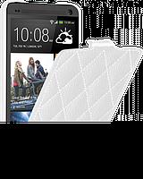 Чехол для HTC One M7 - Vetti Craft flip Diamond Series, белый