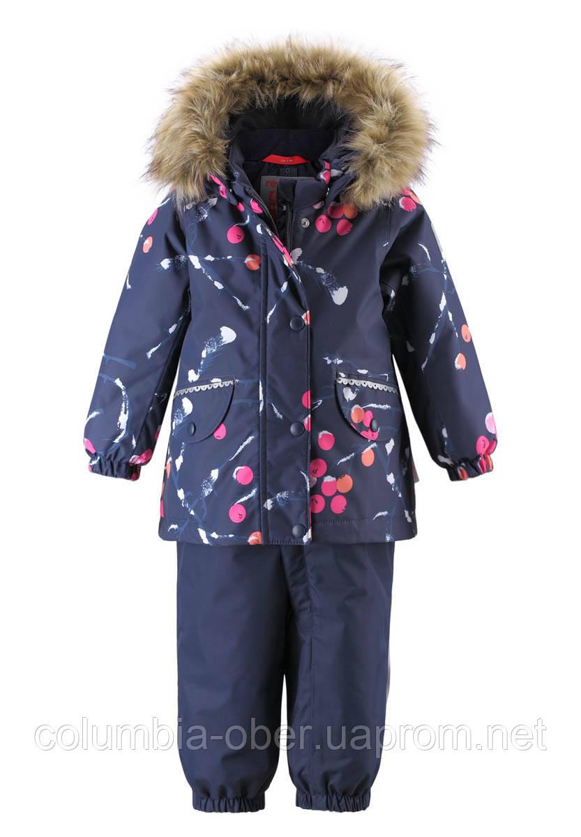 Зимний комплект для девочки Reimatec Mimosa 513126-6983. Размеры 80 - 98.