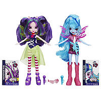 Куклы  Май литл пони Ария Блэйз и Соната Даск (My Little Pony Equestria Girls Aria Blaze and Sonata Dusk)