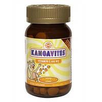 Кангавитес с витамином С апельсин таблетки 100 мг №90