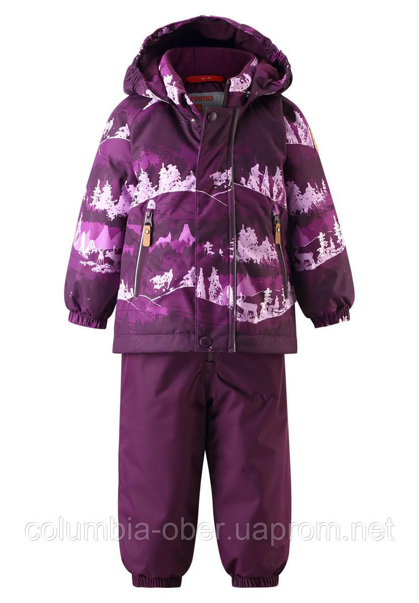 Зимний комплект для девочки Reimatec Ruis 513127-4967. Размеры 80 - 98.