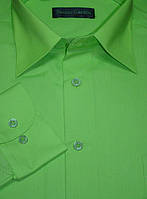 Ярко-зелёная рубашка