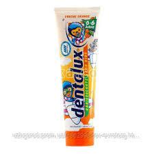 Детская зубная паста Dentalux for kids fruity orange 0-6 years 0.100 мл