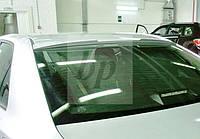 Козырек на заднее стекло (бленда) с вырезом Toyota Camry XV50 2011+ (Тойота Камри 50 кузов 2011г+)