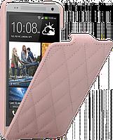 Чехол для HTC One mini M4 - Vetti Craft flip Diamond Series, розовый