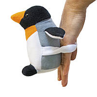 Мягкая игрушка Пингвин Марти мини на руку